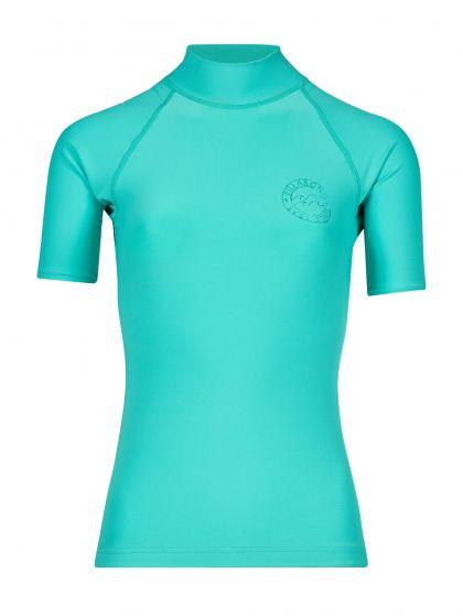 Billabong Logo Ladies Rash Vest 2018 - Pool Blue