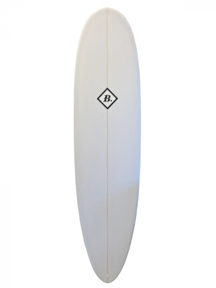 Beachbeat Egg 7ft 6 Surfboard - White