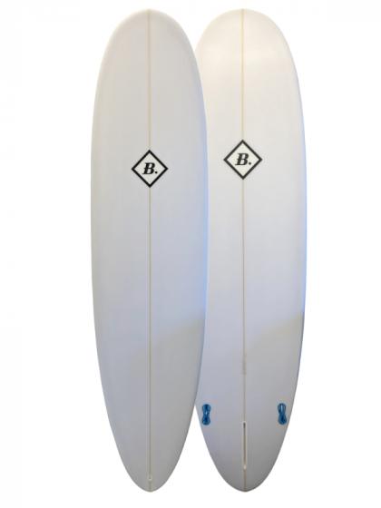 Beachbeat Egg 7ft 4 Surfboard - White