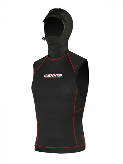 C-Skins Hot Wired 0.5mm Polypro Hooded Thermal Rash Vest