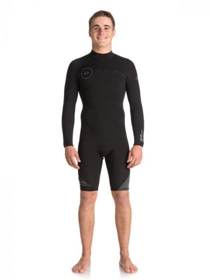 Quiksilver Syncro 2mm Long Arm Shorty Wetsuit 2019
