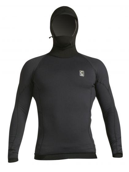 C-Skins HDi Polypro Hooded Thermal Rash Vest