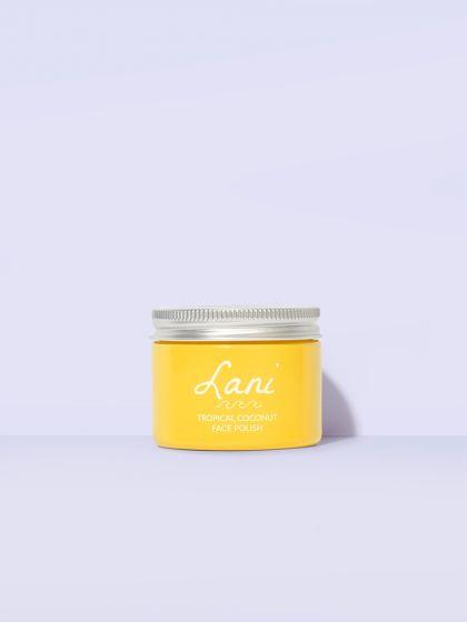 Lani Tropical Coconut Face Polish Scrub 1.2oz