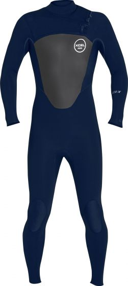 Xcel Axis X 5/4mm Mens Winter Wetsuit 2018 - Ink Blue