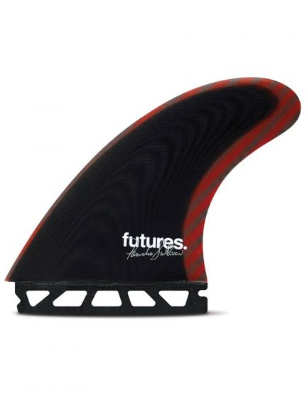 Futures Pancho Control Series Black Red Size Large