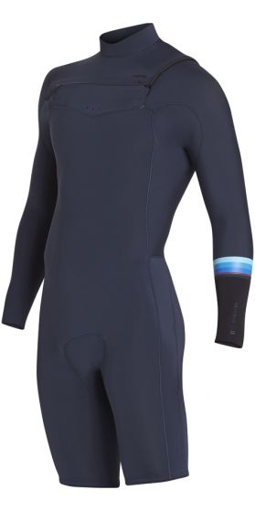Billabong Revolution 2mm Long Sleeve Shortie Wetsuit 2018 - Slate