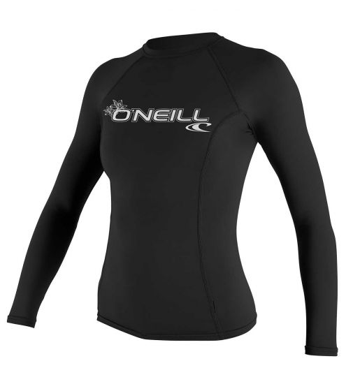 O'Neill Womens' Basic Skins Long Sleeve Crew Sun Shirt