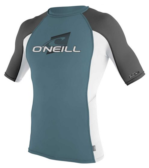 O´Neill Skins Mens UV Rash Vest 2017 - Dusty Blue