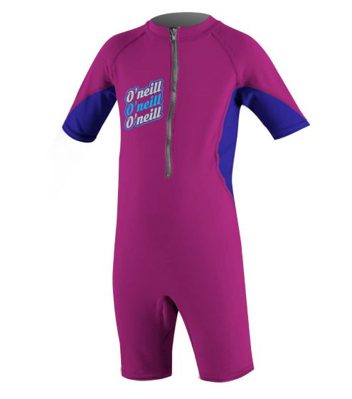 O'Neill Infant O'Zone UV Rash Suit 2018 - Fox Pink / Cobalt/ Mint