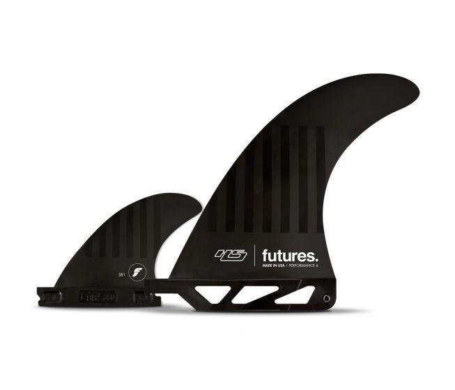 Futures HS Alpha 2 + 1 Fin Set - Black