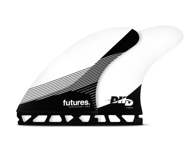Futures DHD Honeycomb Tri Fin Set in Large