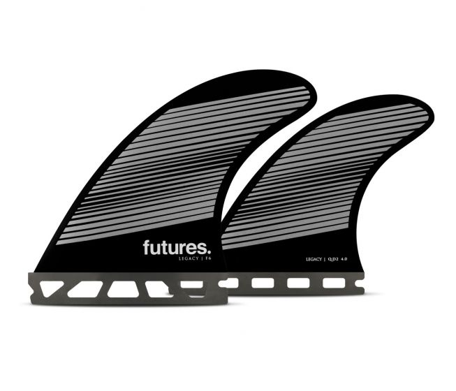 Futures F6 Legacy Series Quad Fin Set in Medium