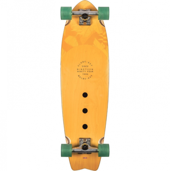 "Globe Chromatic 33"" Skateboard in Mustard Underside"