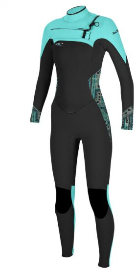 O'Neill Superfreak Fuze 4mm Ladies Wetsuit - Seaglass
