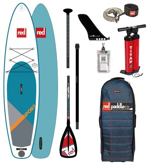 Red Paddle 11ft 3 Sport Inflatable Sup Package