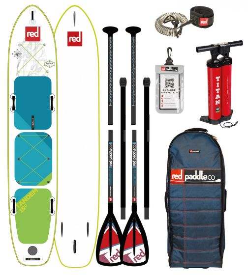 Red Paddle Tandem Voyager Inflatable Sup 2018