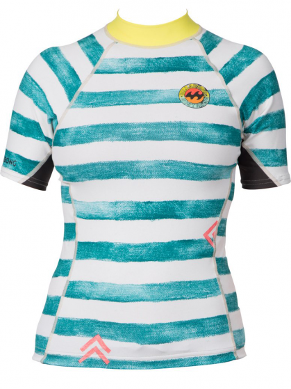 Billabong Surf Capsule Girls Rash Vest - Multi