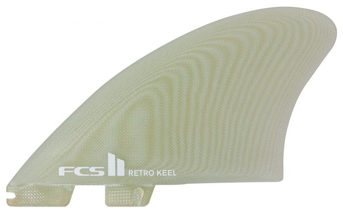 FCS II Retro Keel PG Clear