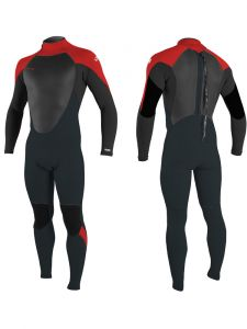 O'Neill Epic 3/2mm Youth Back Zip Summer Wetsuit 2021 - Gunmetal