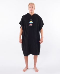 Rip Curl Wet As Changing Poncho - Washed Black