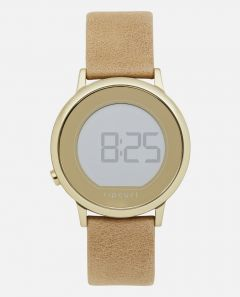 Rip Curl Daybreak Digital Ladies Leather Watch - Gold