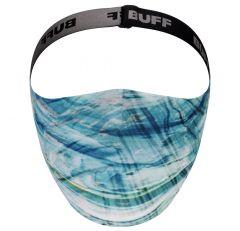 Buff Filter Face Mask - Makrana Sky Blue