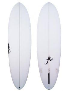 Aloha Fun Divison Mid 7ft 0 PU Surfboard - FCS II