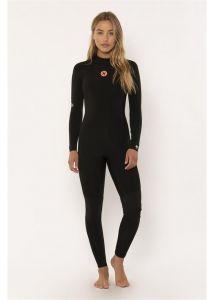 Sisstr 7 Seas 4/3mm Back Zip Womens Wetsuit - Black