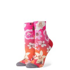 Stance Garden Goddess Ladies Socks - Pink