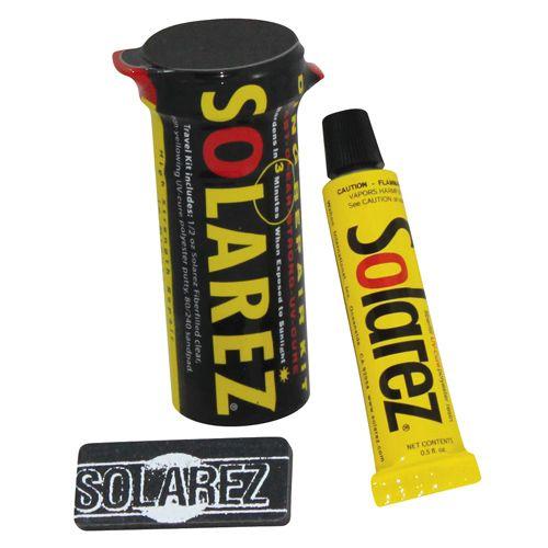 Solarez Mini Travel PU Surfboard Repair Kit