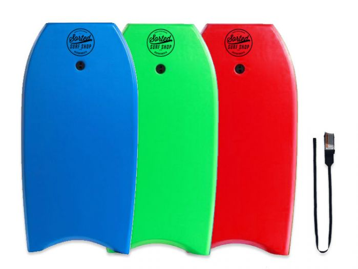 Sorted Surf Shop 36 inch Bodyboard  - Leash included
