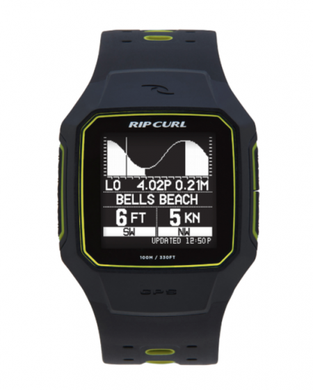 Rip Curl Search GPS Series 2 Watch in Yellow