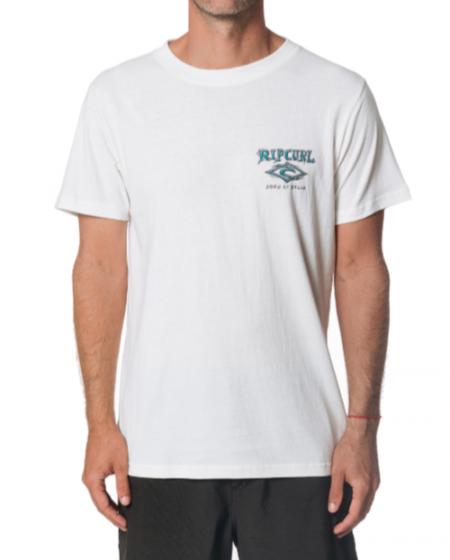 Rip Curl Sunburst Mens T Shirt in Bone