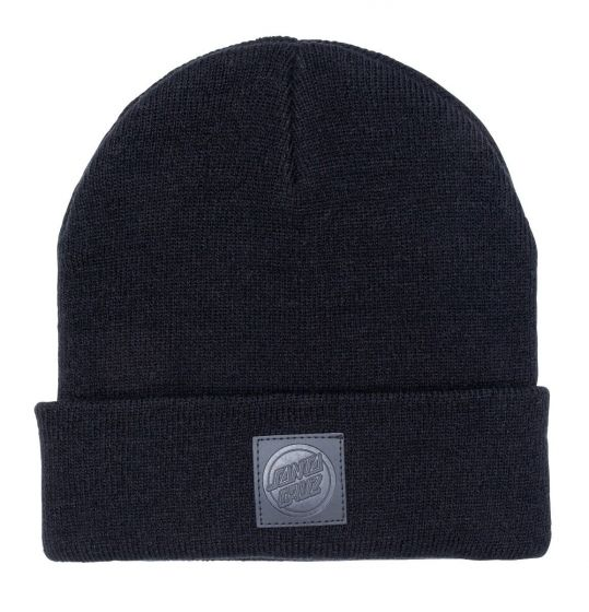 Santa Cruz Men's Stet Beanie - Black - Front