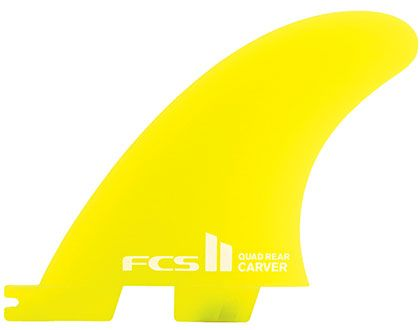 FCS II Carver Neo Glass Quad Rears - Small
