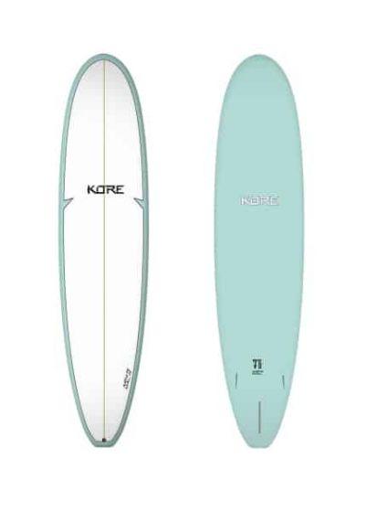 Tiki Kore 6'10 Mini Mal Surfboard - Seagreen