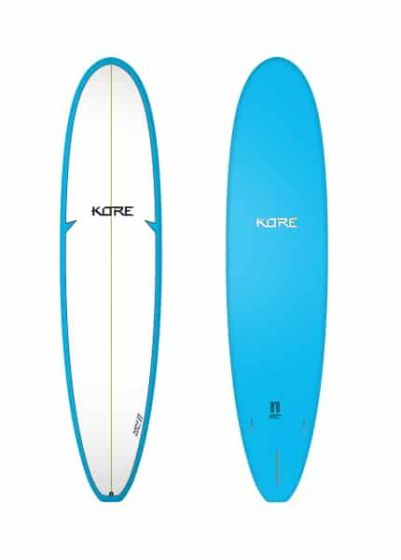 Tiki Kore 6'10 Mini Mal Surfboard - Blue