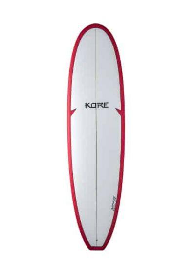Tiki Kore 6'10 Mini Mal Surfboard - Red