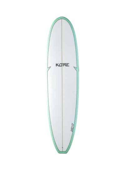 Tiki Kore 7'2 Mini Mal Surfboard - Seagreen