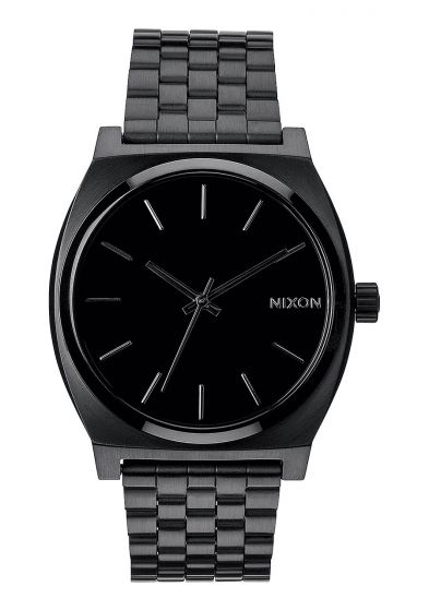 Nixon Mens Timer Teller Watch - All Black3