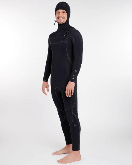 Billabong 7/6mm Furnace Carbon Ultra Hooded Winter Wetsuit