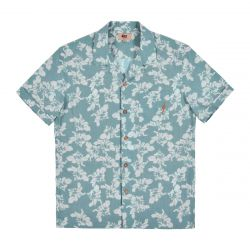 Lightning Bolt Noa Shirt - Frosty Green