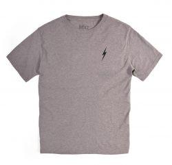 Lightning Bolt Essential Bolt T-Shirt - Heather Grey