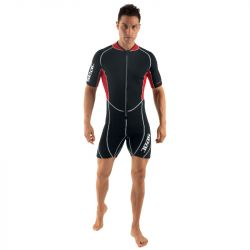SEAC Ciao 2/5mm Mens Shorty Wetsuit 2021 - Black - Front