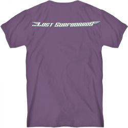 Lost Surfboards T-Shirt - Fig Purple