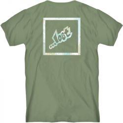 Lost Stab T-Shirt - Moss Green