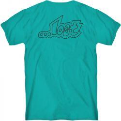 Lost Outline Vintage Dye T-Shirt - Ultra Cyan