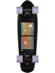 Globe Blazer 26 Inch Complete Skateboard - Black/Purple