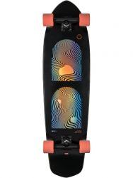 Globe Blazer XL 36 Inch Complete Skateboard - Black/Orange