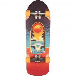 "Globe Aperture 31"" Skateboard - Cult of Freedom/Portal"